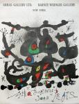 Joan Miró: Arras Gallery, 1972
