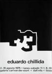 Eduardo Chillida: Galerie van der Voort, 1975
