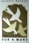 Georges Braque: Galerie Maeght 1958