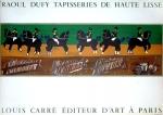 Raoul Dufy: TAPISSERIES DE HAUTE LISSE, 1954
