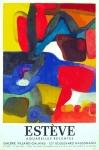 Maurice Estève: Galerie Galanis, 1963