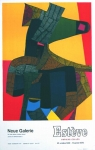 Maurice Estève: Neue Galerie - Zürich, 1969