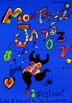 Niki de Saint Phalle: Montreux Jazz Festival, 1984