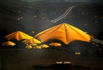 Christo: The Umbrellas, Japan - USA 1991 (1)