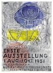 Willi Baumeister: Deutscher Künstlerbund, 1951