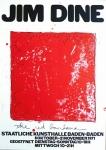 Jim Dine: Kunsthalle Baden-Baden, 1971