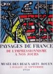 Fernand Léger: Musée des Beaux-Arts 1958