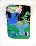 Roger Bezombes: La Cafetière bleue, 1958