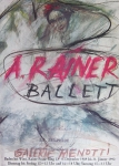 Arnulf Rainer: Galerie Menotti, 1990