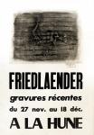Johnny Friedlaender: Galerie La Hune, 1956