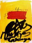 Antoni Tàpies: Fundacio Matorell, 1972