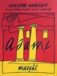 Valerio Adami: Galerie Maeght, 1980