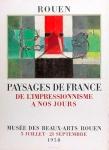 Jacques Villon: Musée des Beaux-Arts, 1958