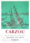 Jean Carzou: Galerie Les Arts, 1957