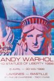 Andy Warhol: 10 Statues of Liberty, 1986