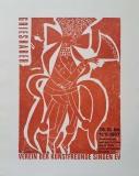 HAP Grieshaber: Kunstfreunde Singen, 1967