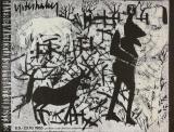 HAP Grieshaber: Winterlandschaft, 1965