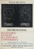 Henri Matisse: Galerie des Ponchettes, 1950