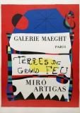 Joan Miró: Terres de Grand Feu (2), 1956