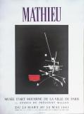Georges Matheu: Musée dArt Moderne de la Ville de Paris, 1963