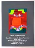 Max Ackermann: Galerie Valentien, 1971