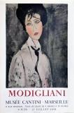 Amedo Modigliani: Musée Cantini, 1958