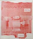 Robert Rauschenberg: Galerie Sonnabend, 1972
